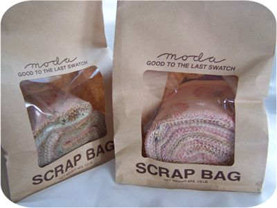 Moda Precut Scrap Bags From Moda Fabrics