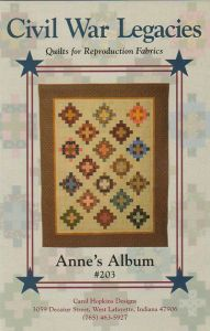 Anne's Album - quilt pattern