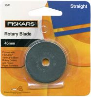 Fiskars Razor Edged 45 mm Rotary Cutter Replacement Blade