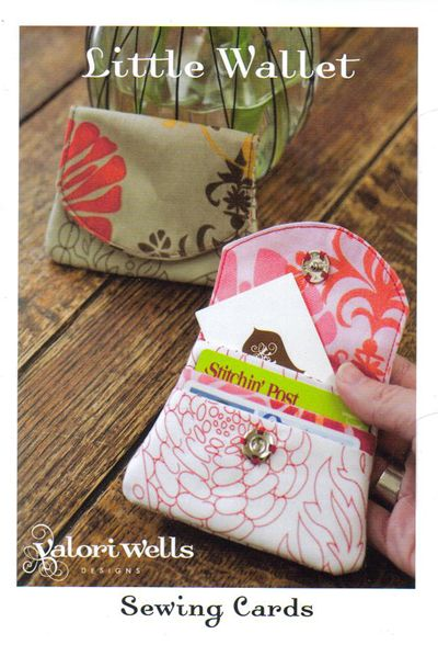 Little Wallet - wallet pattern