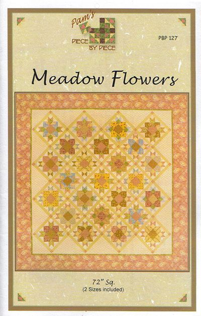 Meadow Flowers - quilt pattern