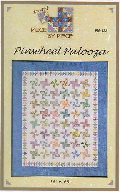 Pinwheel Palooza - quilt pattern