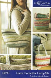 Quick Clothesline Carry-Alls - bag pattern