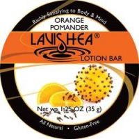 Lavishea Lotion Bar - Orange Pomander